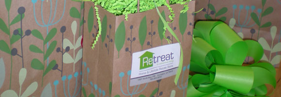 Gift wrapping available at ReTreat